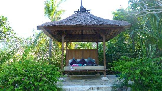 Mimpi Resort Menjangan: repos au bord de la piscine