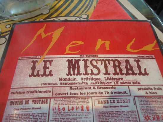 Photo of French Restaurant Le Mistral at Pyrenees 401 Rue Des Pyrenees, Paris 75020, France