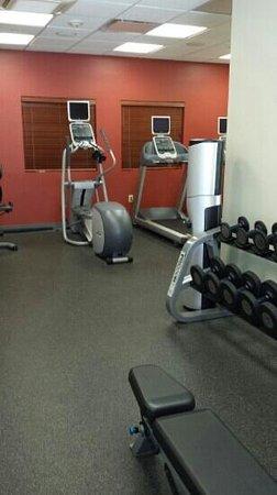Hilton Garden Inn Gulfport Airport: gym