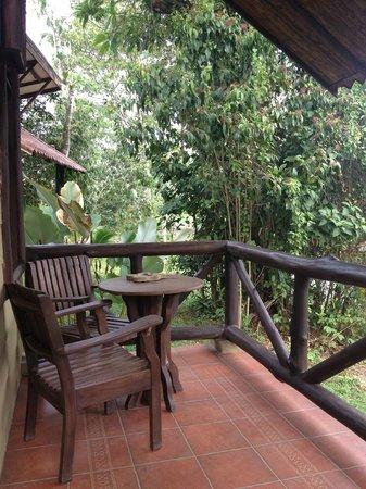 Maquenque Eco-Lodge: Room's balcony