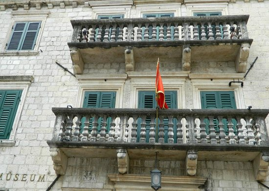 The Maritime Museum in Kotor