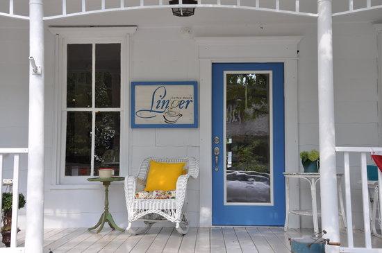 Linger Coffee House: Linger a little longer.