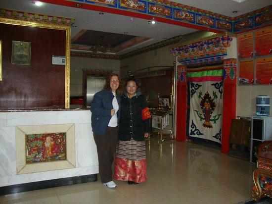 Mandala Hotel: Na recepção