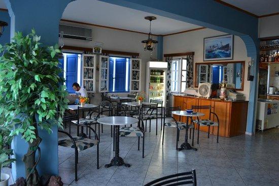 Hotel Akis: sala colazione