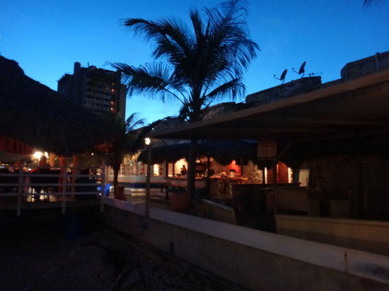 Perla Del Mar: View from the table - Other Restaurants