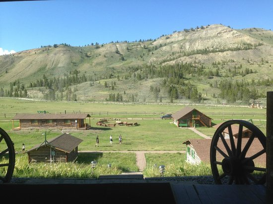 Nine Quarter Circle Ranch: View from the Lodge