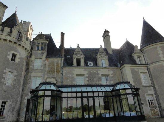 Chateau Golf des Sept Tours: Back of Chateau