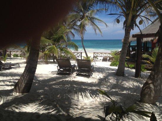 Cabanas Los Arrecifes: et vous voici au paradis