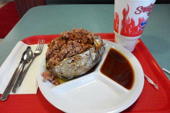Terrell, TX: The Double Barrell Baked Potato
