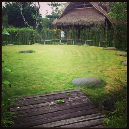 Fivelements Spa: little garden