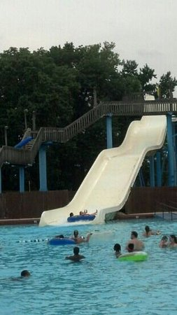 Point Mallard Park: One of the 3 large slides