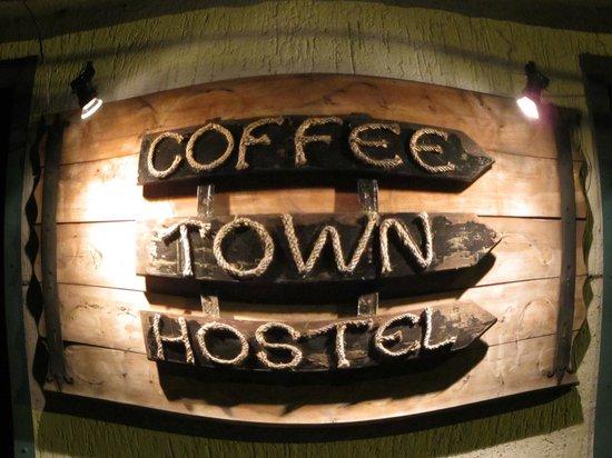 Coffee Town Hostel: Entrada