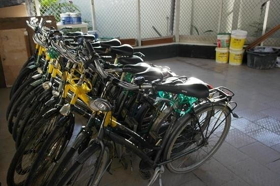Cardy Apartments: Rent a Bike at Cardy