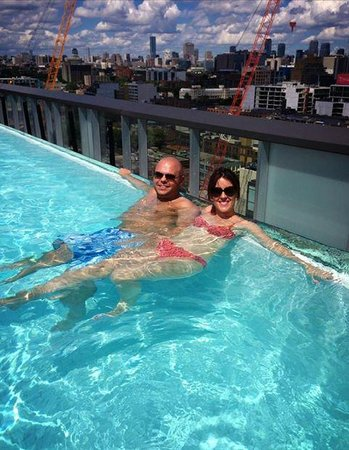Thompson Toronto - A Thompson Hotel : Rooftop infinity pool