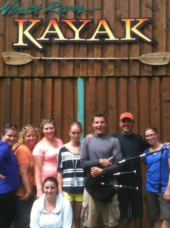 North River Kayak: The Happy Kayakers After The Tour