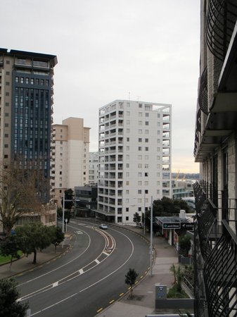 Copthorne Hotel Auckland City: view from balcony