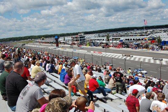 Terrace Vista Seat View Picture Of Pocono Raceway Long