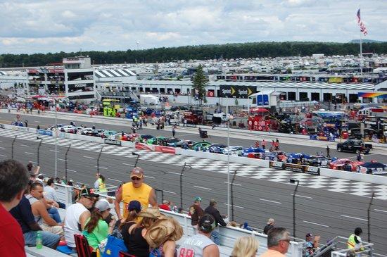 Pocono Raceway Terrace Vista Seat View