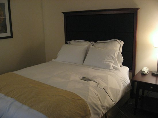 Radisson Hotel Ottawa Parliament Hill : comfy bed with massage functions