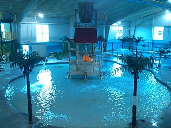 Carribean Indoor Water Park : View from the eating area
