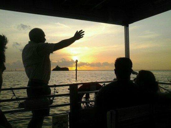 Calusa Queen Excursions: The Captain of the Calusa Queen