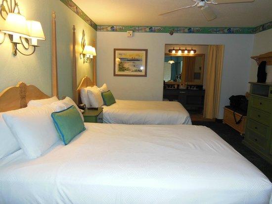 Disneys Caribbean Beach Resort Standard Room Barbados