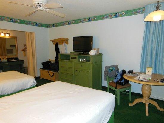 Disney's Caribbean Beach Resort: Standard room (Barbados building 12),
