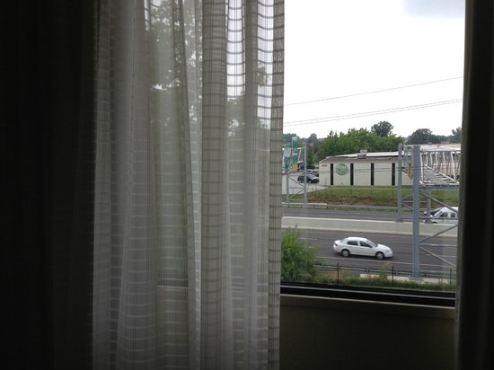Wyndham Indianapolis West: not much of a view, but you aren't there for a view