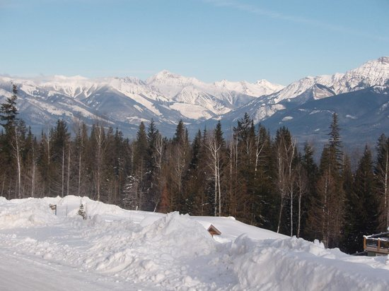 Kicking Horse Mountain Resort: AMAZING VIEWS