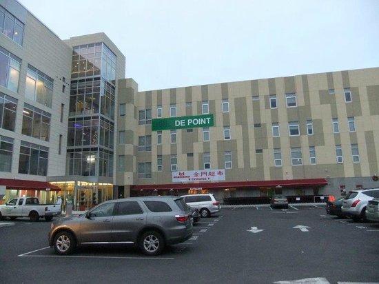 Hotel de Point: Hotel actualy