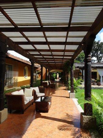 Casa Santa Rosa Hotel Boutique: Hotel grounds