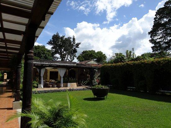 Casa Santa Rosa Hotel Boutique: Hotel garden