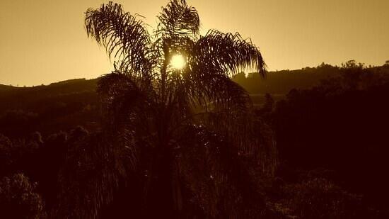 Chales Vila da Serra : Por do Sol