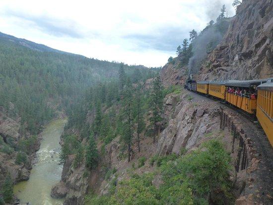The animas river canyon foto di durango and silverton for Noleggio di durango cabinado colorado