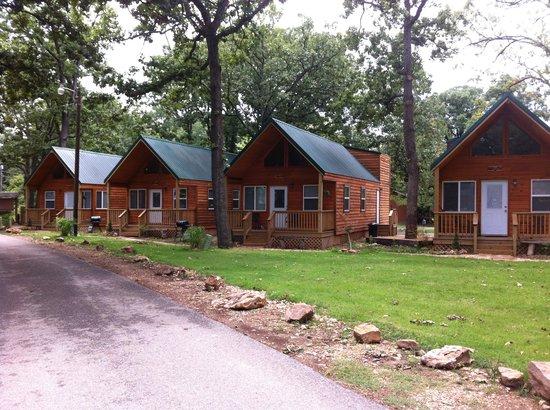 Lee's Grand Lake Resort: mini lodges
