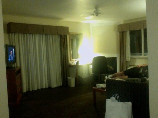 Holiday Inn Express Mackinaw City: suite
