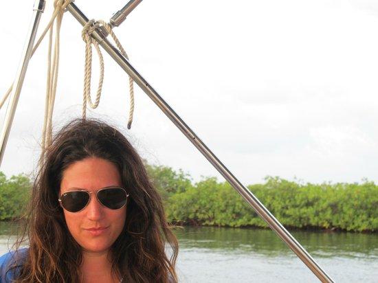 Turtle Inn: Sunset boat ride