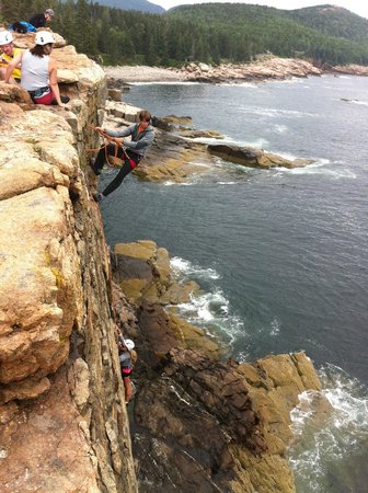 Acadia Mountain Guides Climbing School : Otter Point Cliff