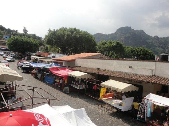 Pizzas Xochitenco: Vista desde la terraza
