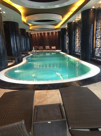Swissotel Tallinn: swimming pool