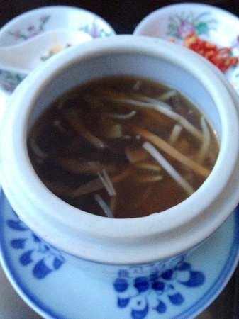 One on the Bund: Thick broth..