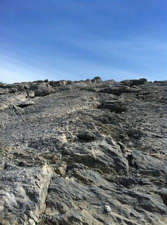 Ha Ling Peak: the last part of the hike