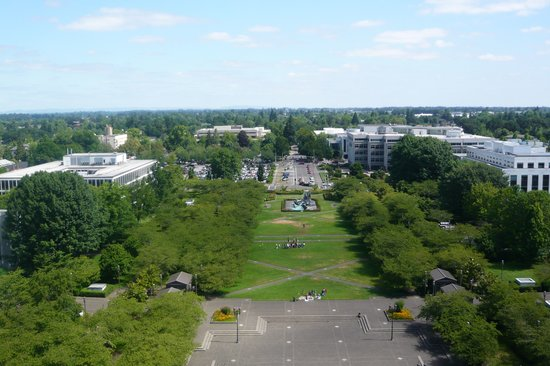 Oregon State Capitol : View from tower