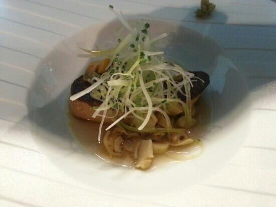 Le Miyabi : foie gras sans son jus