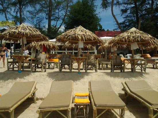 Cafe del Mar: nouveaux matelas