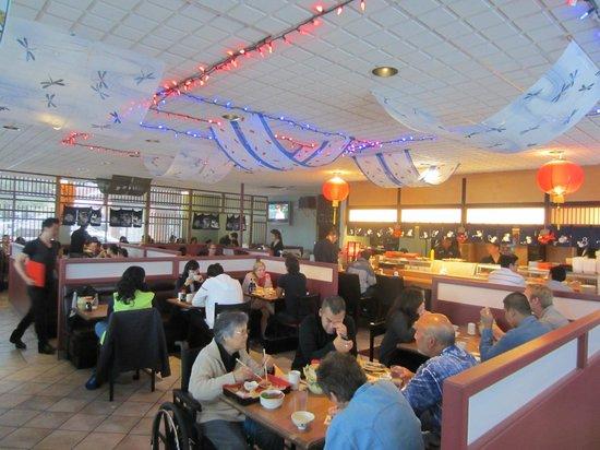 Matsuyama Japanese Restaurant : typical evening