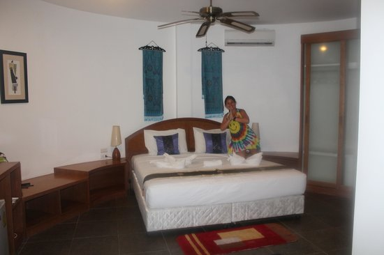 Mango Spa & Resort : la chambre spacieuse
