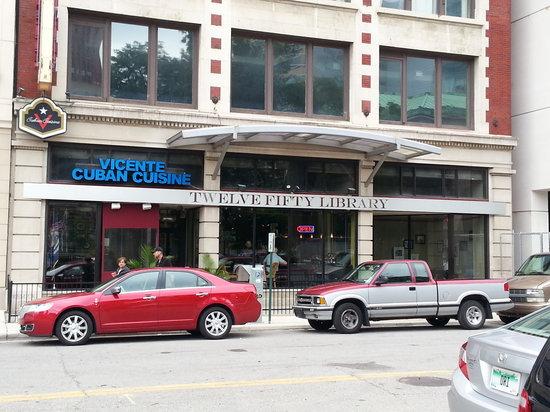 Vicente's Cuban Cuisine: Exterior