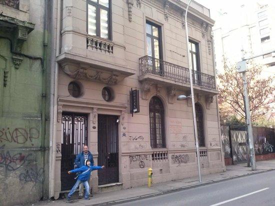 Santiago Backpackers Hostel: Entrada Santiagobackpackers