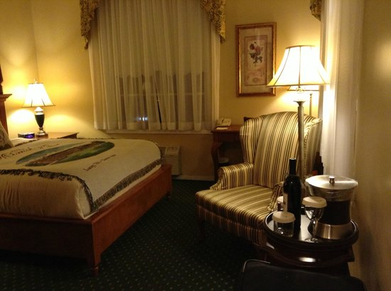 The Mimslyn Inn : Cozy and comfortable